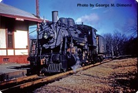 Engine 1451 is running light at Bedford Depot on February 23, 1953.