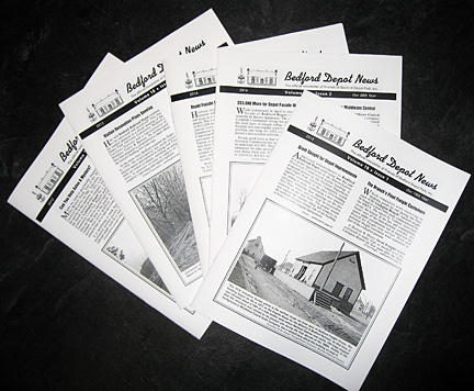 Bedford Depot News issues