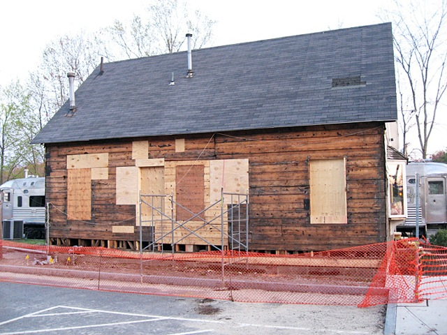 Freight House under renovation 2008